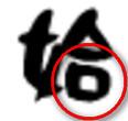 丸文字の筆跡特徴:閉空間大型